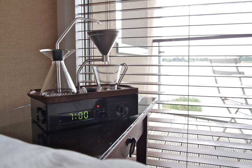 The Barisieur - wekker die koffie zet - Foto 14