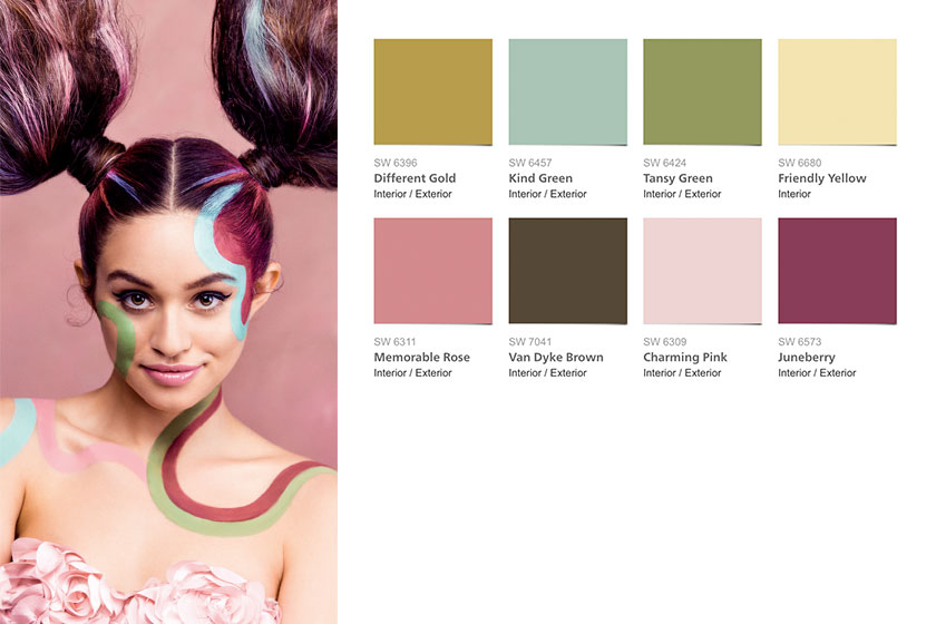 2016 Trend kleuren kleur voorspelling color forecast Sherwin Williams 02 Mas Amor Por Favor