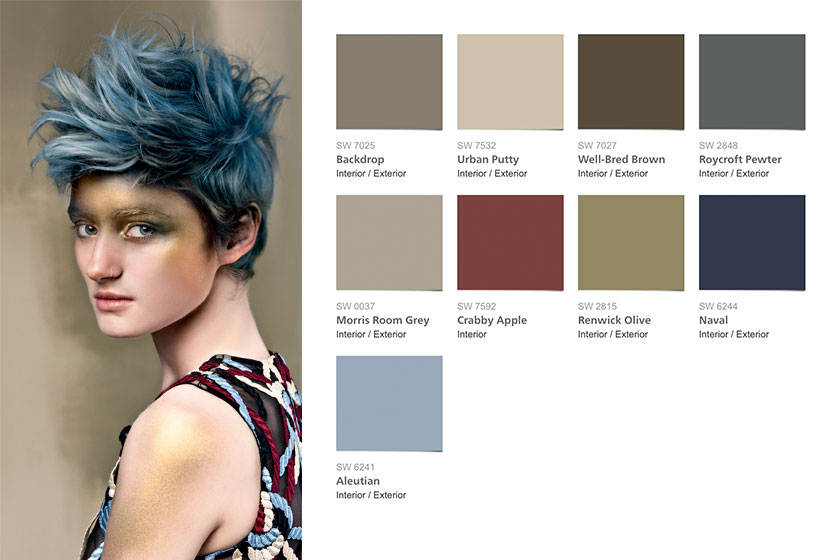 2016 Trend kleuren kleur voorspelling color forecast Sherwin Williams 03 Nouveau Narratieve