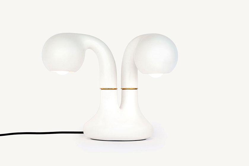 Entler keramische lampen door designer Jonathan Entler - verwelkte plant vorm of éénogig monster? - Foto 7