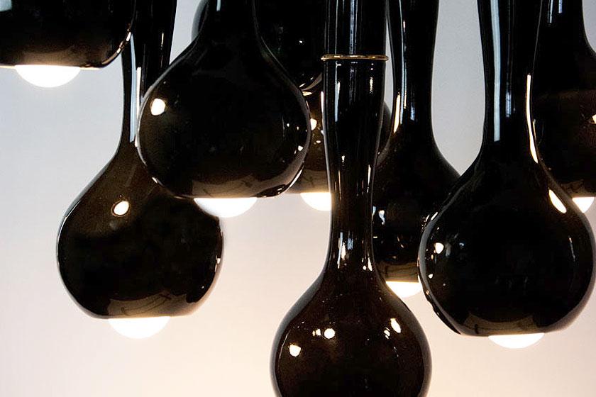 Entler keramische lampen door designer Jonathan Entler - verwelkte plant vorm of éénogig monster? - Foto 10
