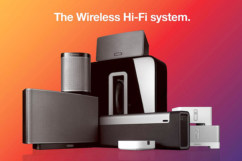SONOS Wireless Hi-Fi systeem is nu vernieuwd