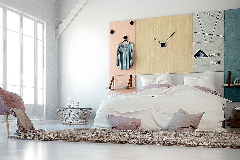 Style pads. Creatieve modulaire wanddecoratie van het Nederlandse Dock Four biedt mooie functionele oplossing voor saaie wanden - Foto 1