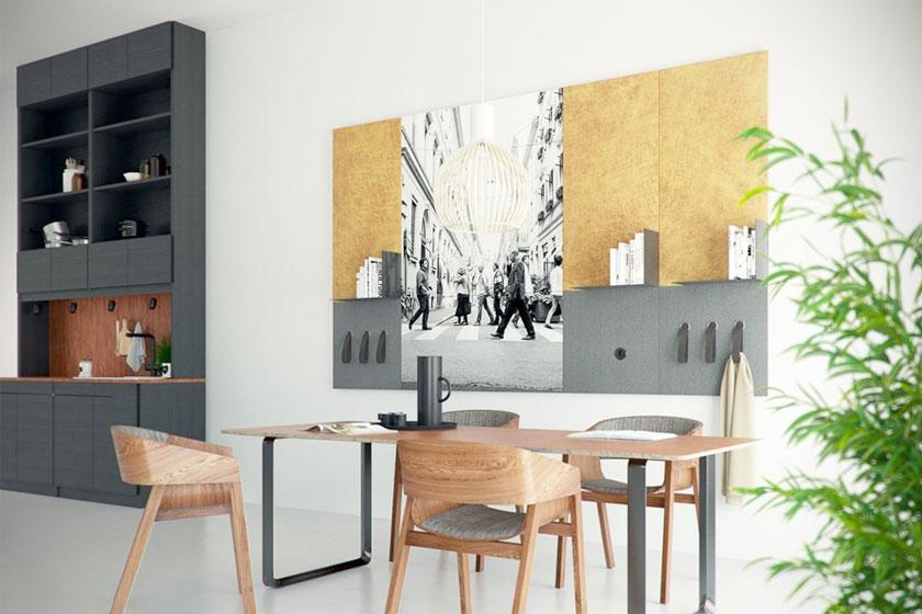 Style pads. Creatieve modulaire wanddecoratie van het Nederlandse Dock Four biedt mooie functionele oplossing voor saaie wanden - Foto 6