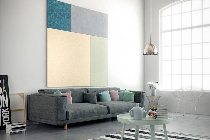 Style pads. Creatieve modulaire wanddecoratie van het Nederlandse Dock Four biedt mooie functionele oplossing voor saaie wanden - Foto 3