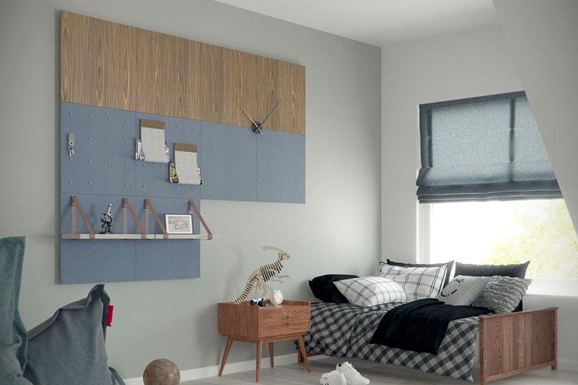 Style pads. Creatieve modulaire wanddecoratie van het Nederlandse Dock Four biedt mooie functionele oplossing voor saaie wanden - Foto 4