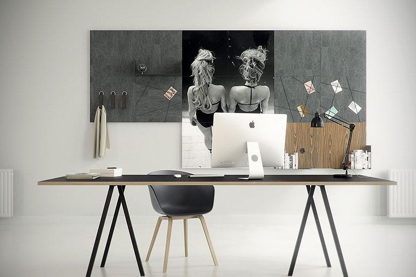 Style pads. Creatieve modulaire wanddecoratie van het Nederlandse Dock Four biedt mooie functionele oplossing voor saaie wanden - Foto 2
