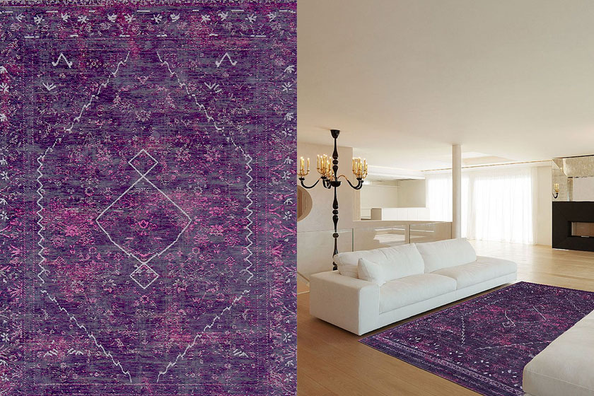 Silver Lining vloerkleed van Vloerkledenwinkel is van designer Louis de Poortere en te koop via de webshop van VTWonen