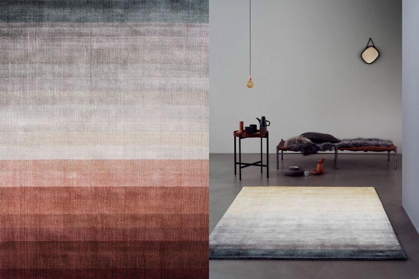 Vloerkleed Peach in de Essentials collection gebaseerd op Scandinavische creativiteit en bijzondere vormen - Te koop via de webshop van VTWonen
