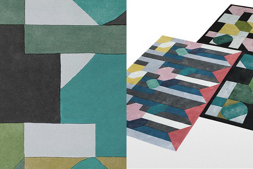 Vloerkleed Meriada ontworpen door de designers van studio Casa Estudio en te koop via de webshop van MADE.com