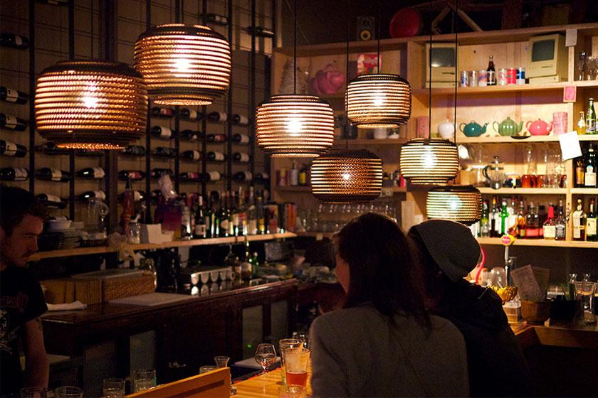 Graypants Scraplights collectie lampen van karton - foto 6 van 10