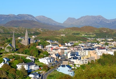 Clifden - on the edge of Connemara National Park