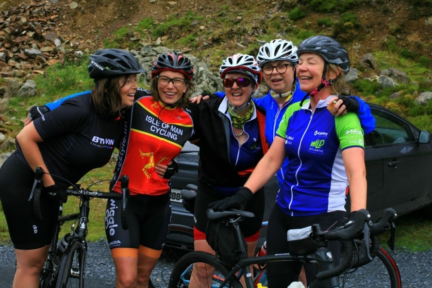 """""""I honestly don t think I would have made that climb without the Sands cycling  jersey bearing our daughter s name."""" 319b48c34"""