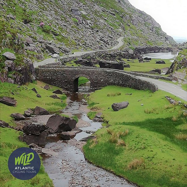 On our route - the Gap of Dunloe is one of Ireland's most famous mountain passes #mizmal #gapofdunloe #irelandendtoend