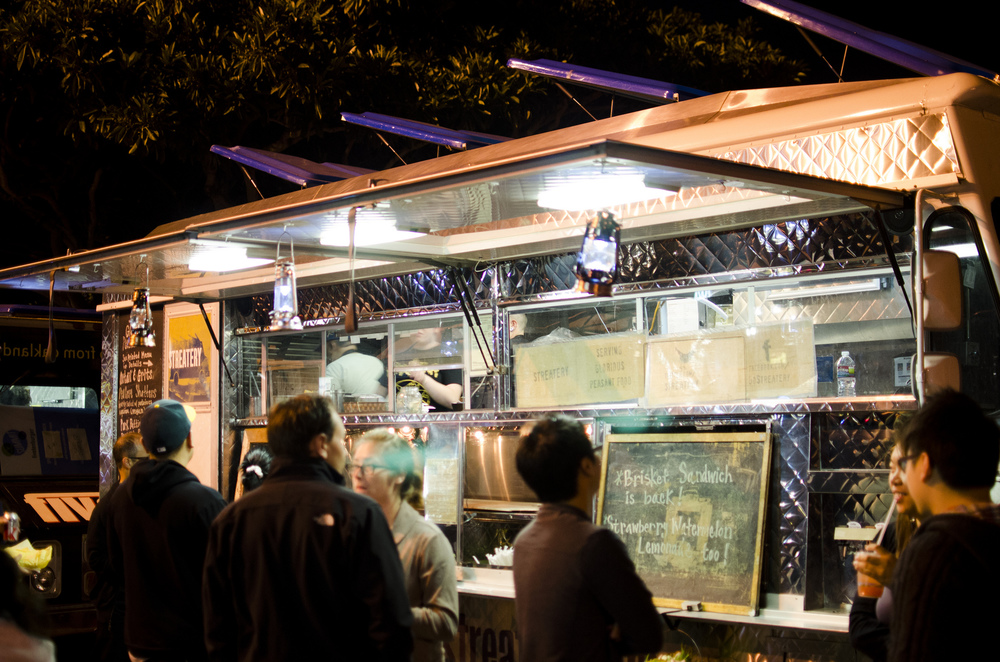 Food trucks in SF