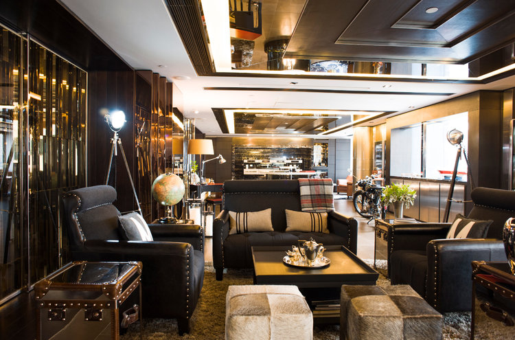 Work - Private Lounge by Miele, Hong Kong — Diane Nittke Interiors