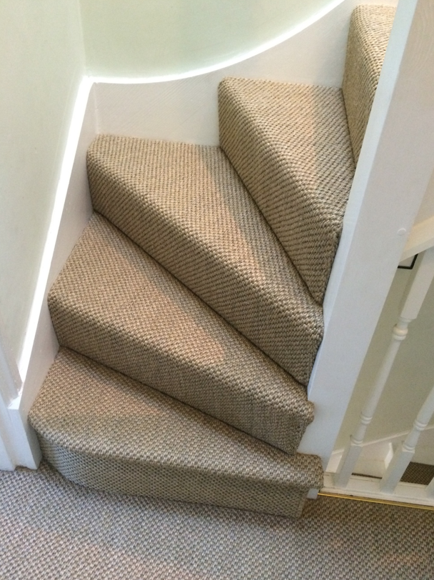 Sisal Natural Floor Staircase London