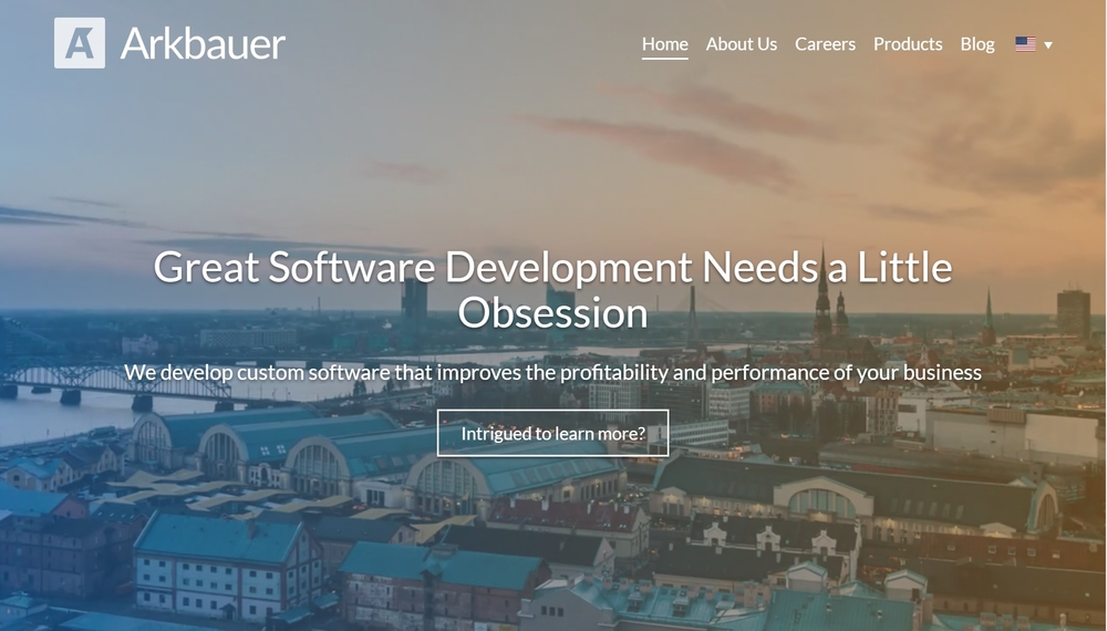 Arkbauer Website Project