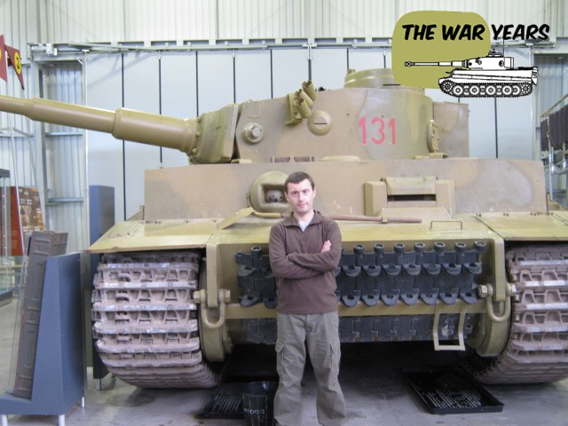 Charlie and the star of Fury, Tiger 131