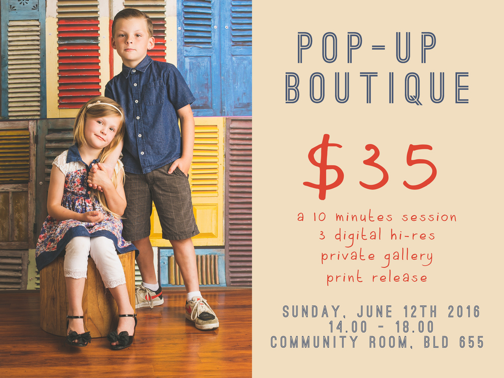 Book your spot here -->http://rumahprops.bigcartel.com/product/pop-up-boutique-shop-for-a-cause