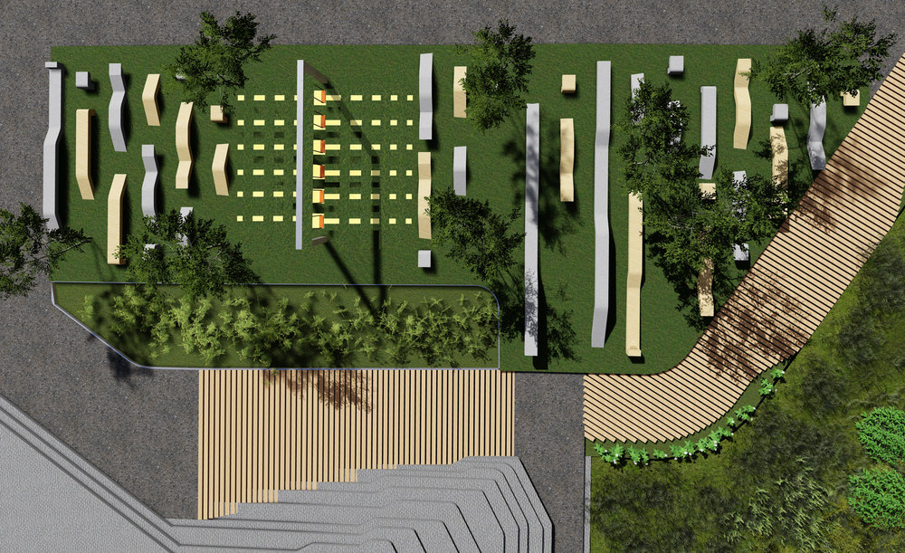 Playscape: 2776 ft2