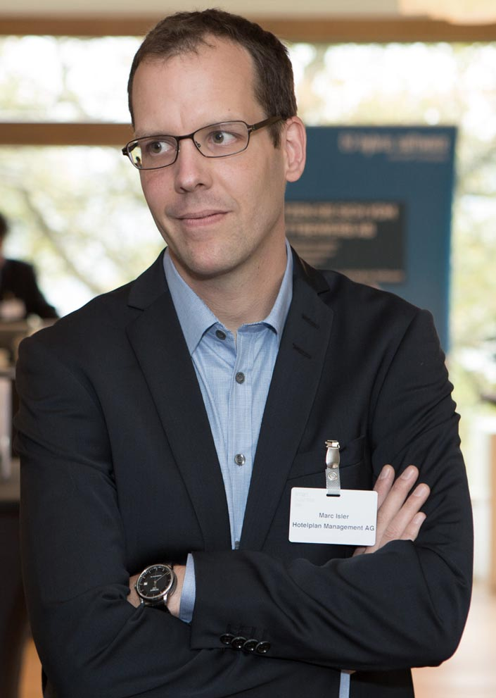 Marc Isler - Director Digital Business Development Hotelplan Group - App Design Kunde
