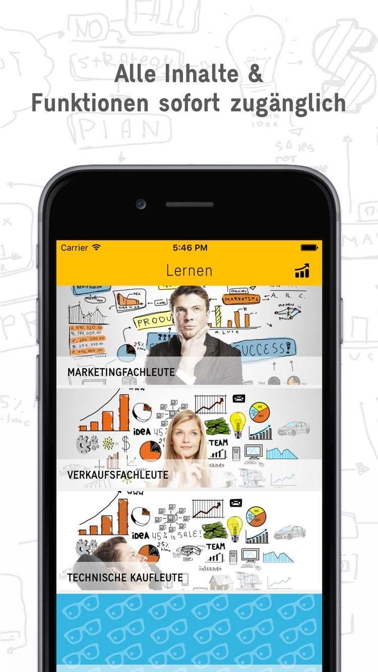 Marketing Experte App - Navigation