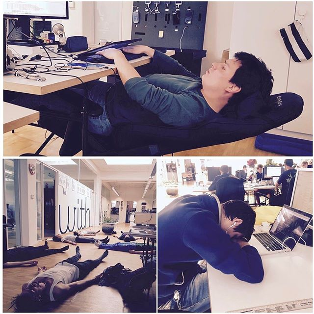 Developing an #App is hard work! #softwaredeveloper #programming #coderslife #developerlife #relaxing #chillout #compiling #appswithlove #yoga #meditation