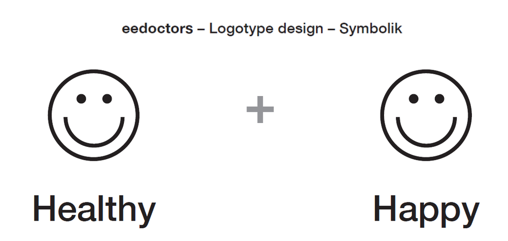 eedoctors logo design by apps with love and joel weber