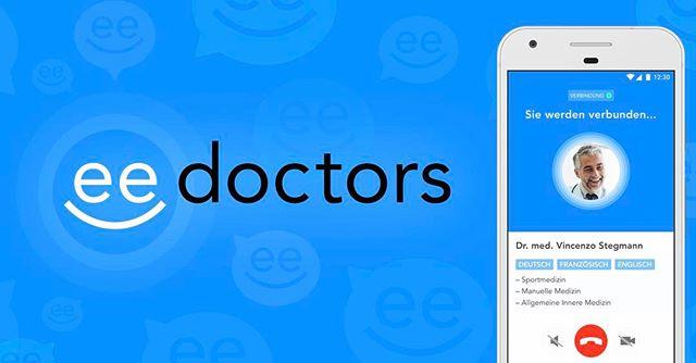 eedoctors-APP LAUNCH: EIN GRUND #HAPPY ZU SEIN! Wir haben für das #Schweizer #Startup #eedoctors innert kurzer Zeit ein #ehealth Angebot entwickelt, welches es so in der #Schweiz noch nicht gab.Mehr dazu im #AwlBlog #Telemedizin #mHealth #mhealth #appswithlove #applaunch #appmarketing #appdesign #travelapps #medtech #switzerland #doctors #growth #toolsforlife #arzt  appswithlove.com/blog @eedoctors