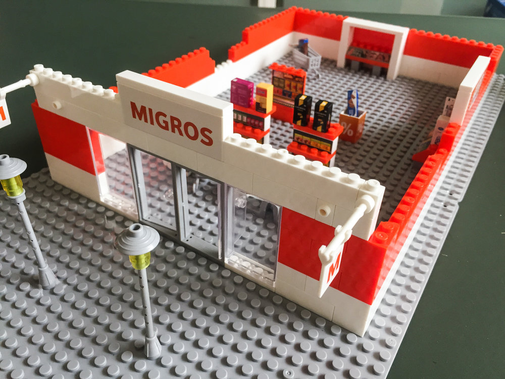 Unsere Apps with love Migros Filiale hat noch etwas Potential nach oben...