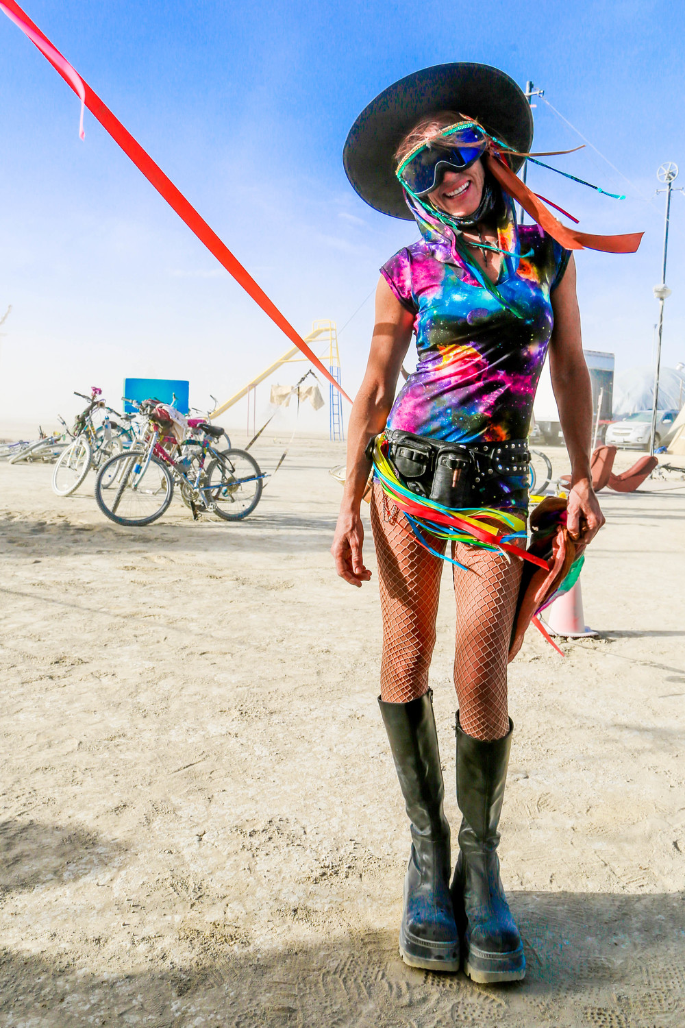It's hard to get to Burning Man, it's hard to be there, and it's hard to return to the default world when it's over.