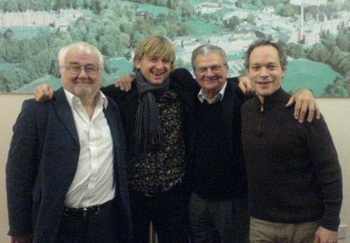 l-r John Horler, CG, Allan Ganley, Alec Dankworth. Dorset 2007