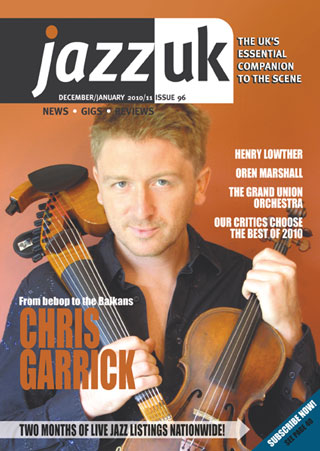Jazz UK cover feature