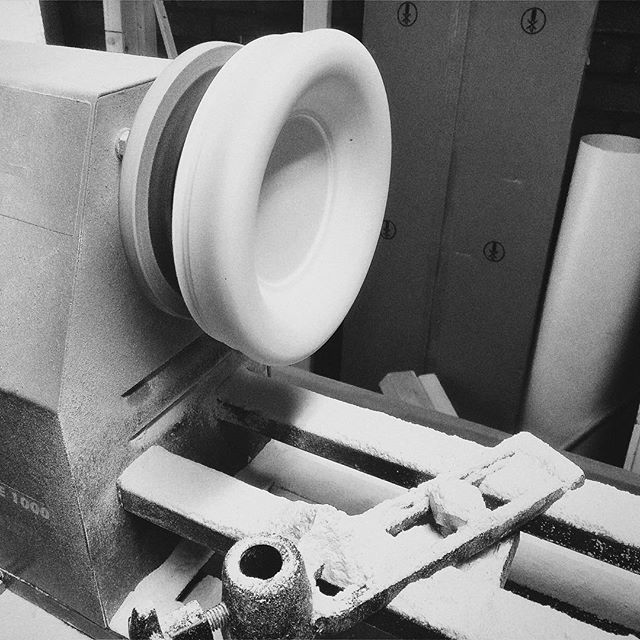 New products are coming up! #studiops #concrete #handmade #prototype