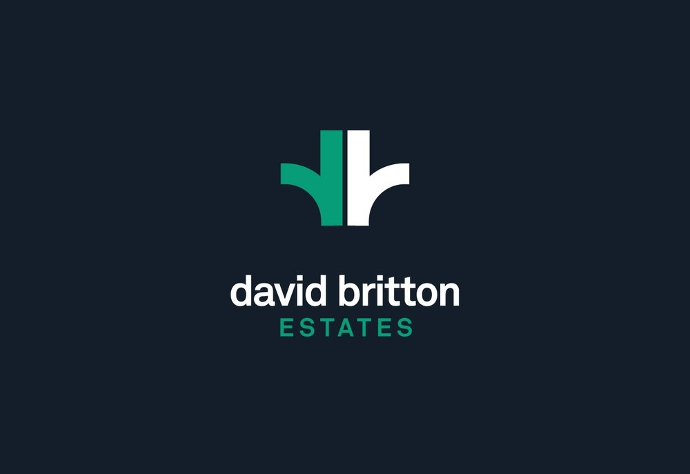 <b>David Britton Estates</b><br>Branding