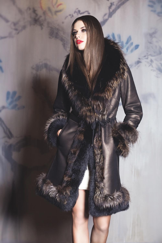 Shearling 2015 Carol Gallacher designer for HiSO Styling: Joanna Plisko, Photography: Mike Lewis, Hair and Makeup: Taca Ozawa