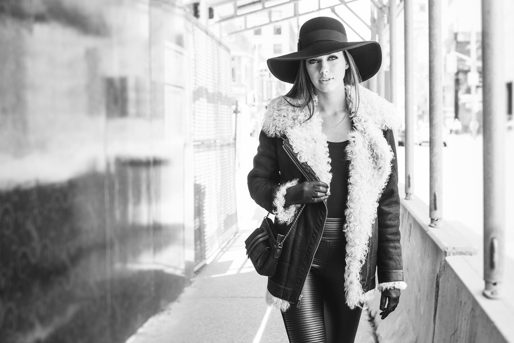 Shearling 2015 Carol Gallacher designer for HiSO, Styling: Joanna Plisko, Photography: Mike Lewis, Hair and Makeup: Taca Ozawa