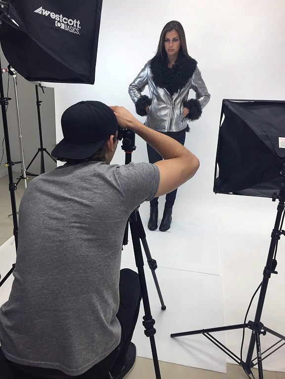 HiSO Behind The Scenes Line Shoot