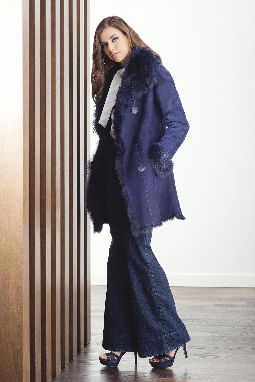 HiSO Galla Shearling 2016 Design: Carol Gallacher, Styling: Amber Watkins, Photography: Mike Lewis, Hair and Makeup: Taca Ozawa