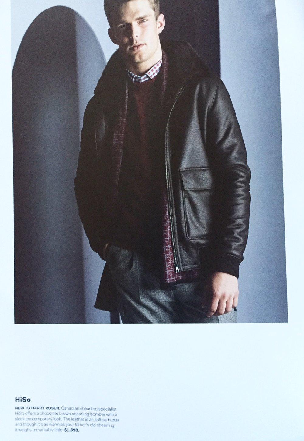 Harry Rosen Outerwear Guide Fall 2015