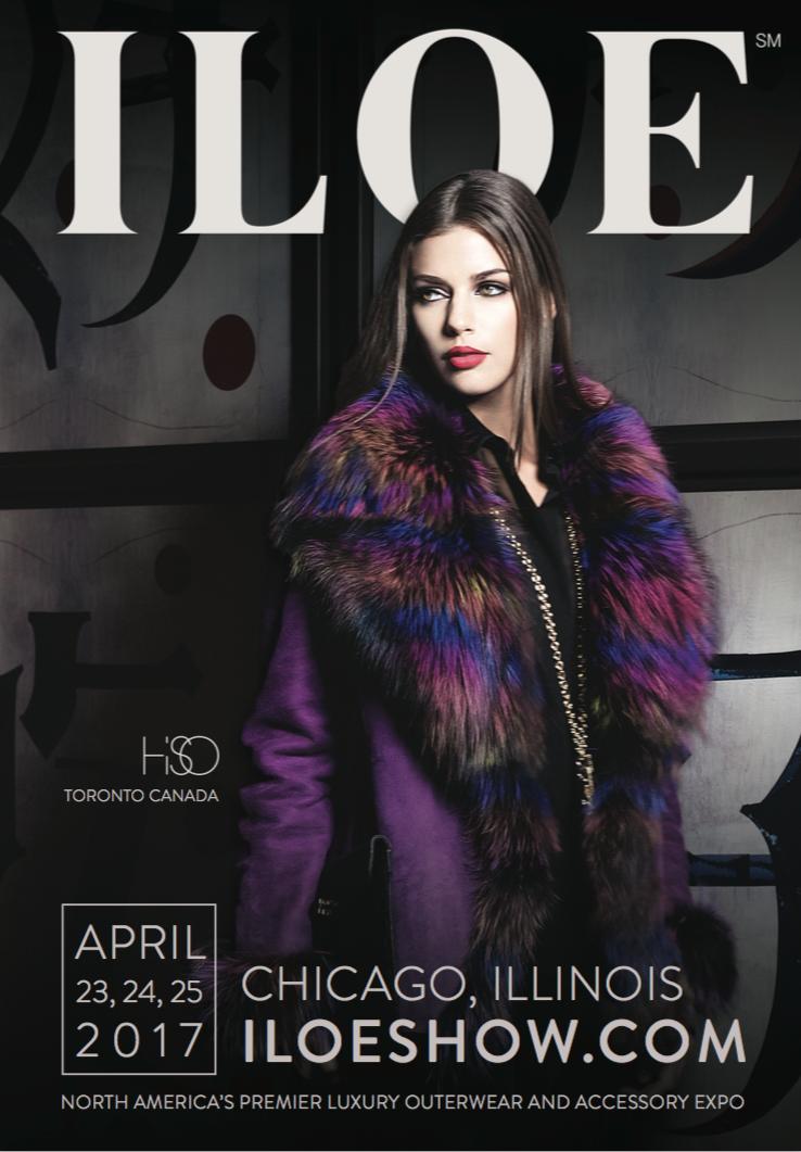 Ad for Moda Pelle Magazine