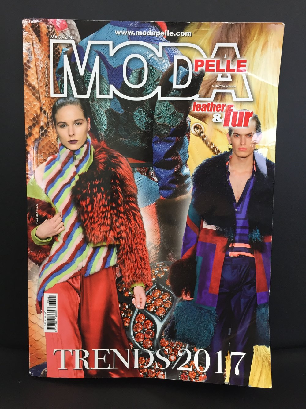 As seen in Always Looking Ahead ILOE Moda Pelle No.2 September 2016