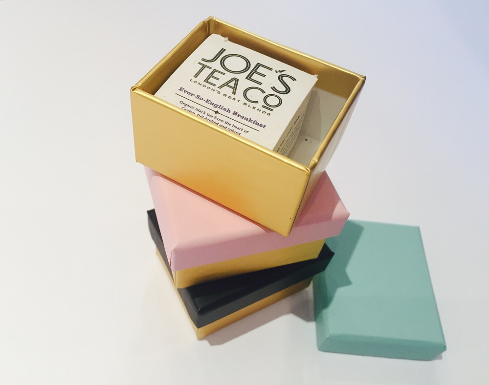 Joe's Tea Matchbox Gift