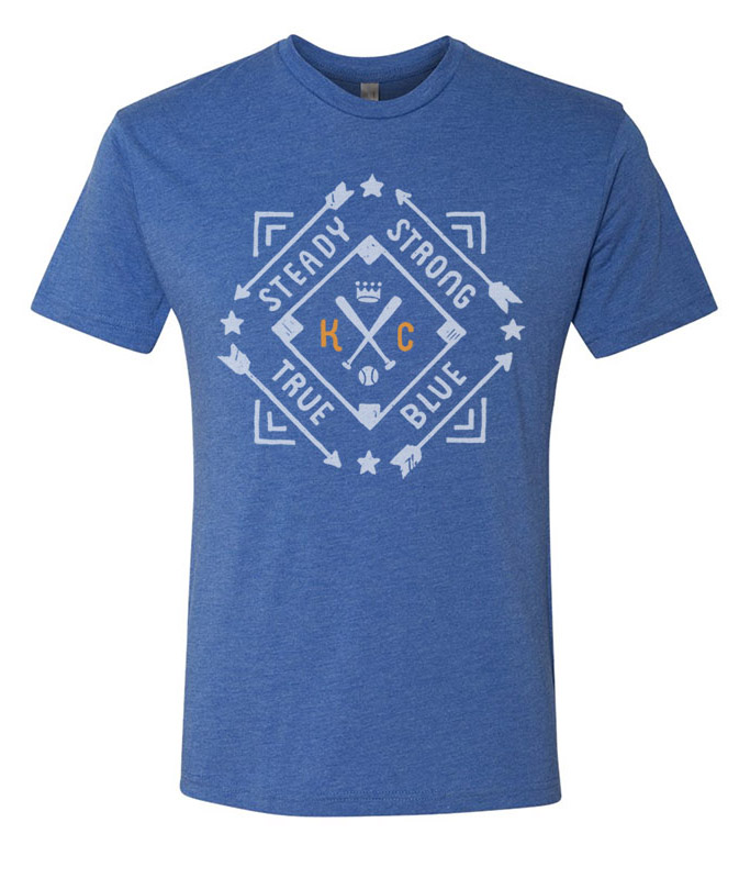 KC Diamond T(royal blue)