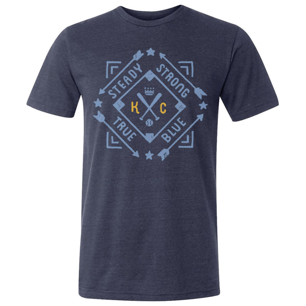 The KC Diamond T(Vintage navy)