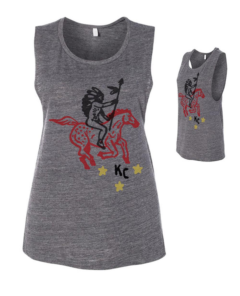 KC Battle Cry (women's muscle tank)