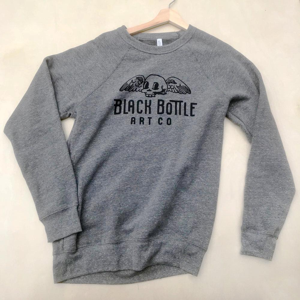 Black Bottle Art Co Logo Sweatshirt
