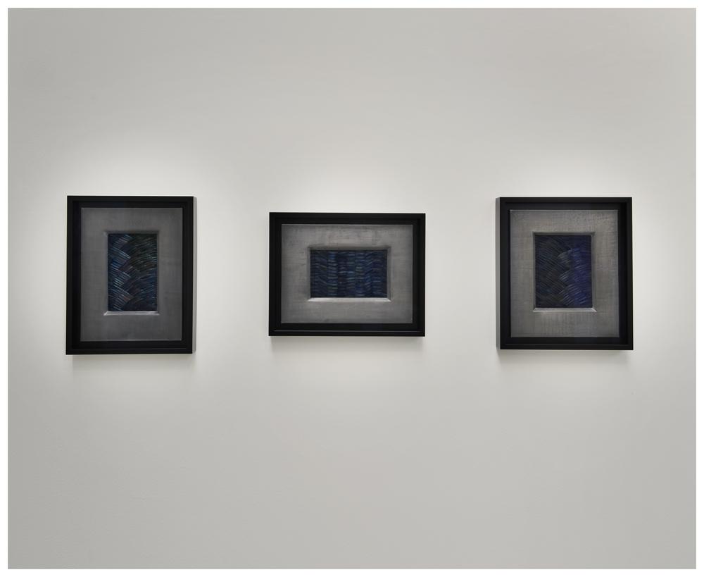 Whelm I, II & IV, 2012, Kate MccGwire