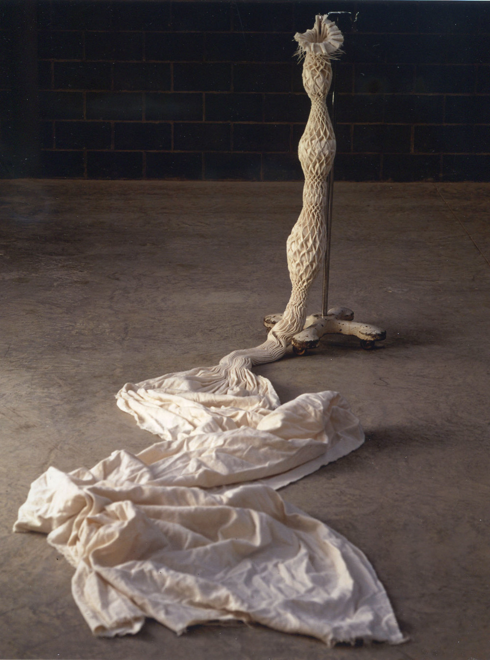 Smock, 2001, Kate MccGwire
